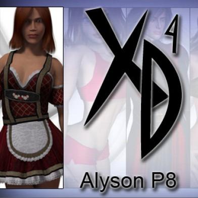 Alyson P8: CrossDresser License Image