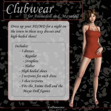 Clubwear for AD/MD
