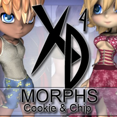 Cookie Chip XD Morphs Image