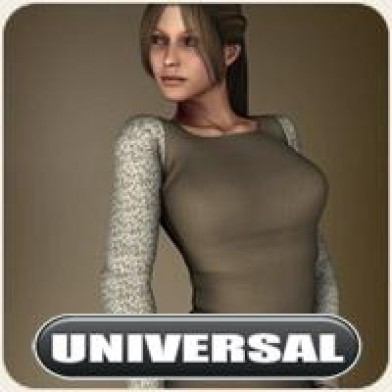 Universal Peasant Dress Image