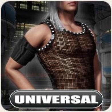 Universal Night Slayers Mesh Tank Image