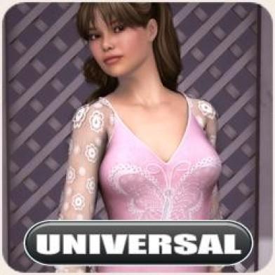 Universal Butterfly Dress Image