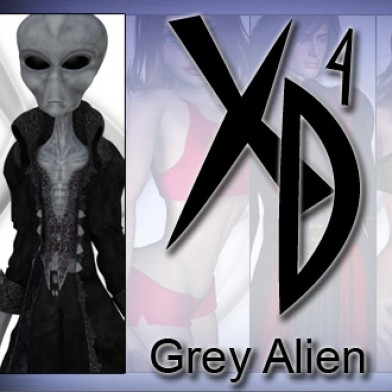 Grey Alien: CrossDresser License Image