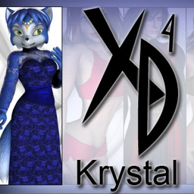 Krystal SF CrossDresser License Image