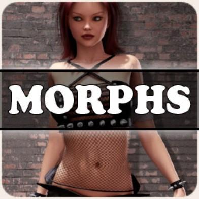 Morphs for V4 Liquid Shirt Image