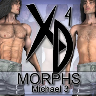 michael 3 xd morphs image