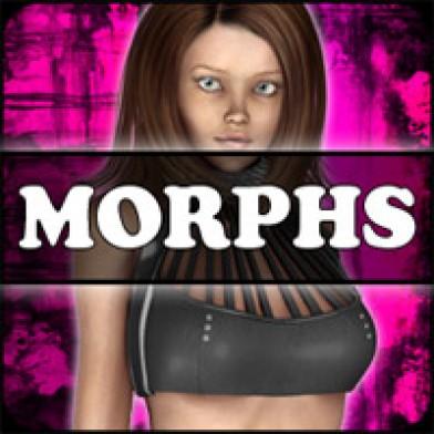 Morphs for V4 Punk Chick Halter Image