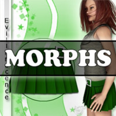 Morphs for V4 School Girl Skirt 1 Image
