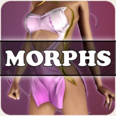 Morphs for V4 Theta Dress Image