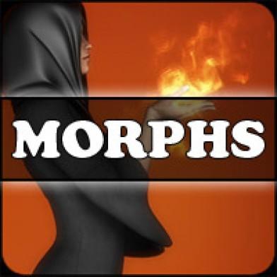Morphs for V4 Witchy Dress Image