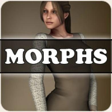 Morphs for V4 Peasant Dress