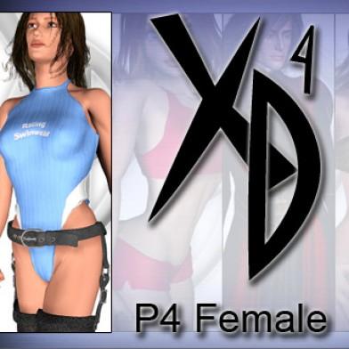P4 Female CrossDresser License Image