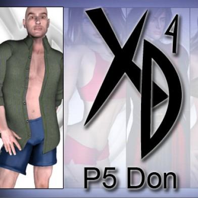 P5 Don CrossDresser License Image