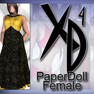 PaperDoll Female CrossDresser License Image