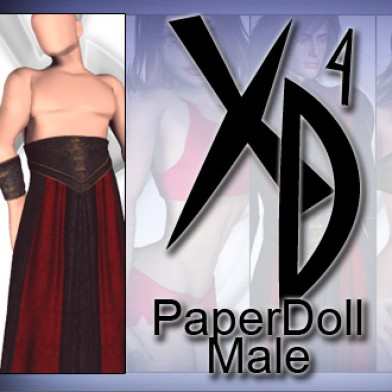 PaperDoll Male CrossDresser License Image