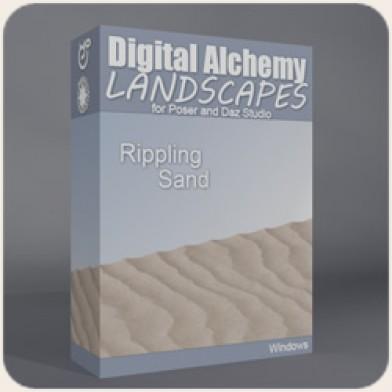 Digital Alchemy:  Rippling Sand