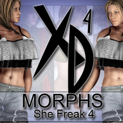 She Freak 4 XD Morphs Image