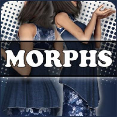 Morphs for V4 Asian Priestess Image