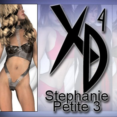 Stephanie Petite 3 CrossDresser License Image