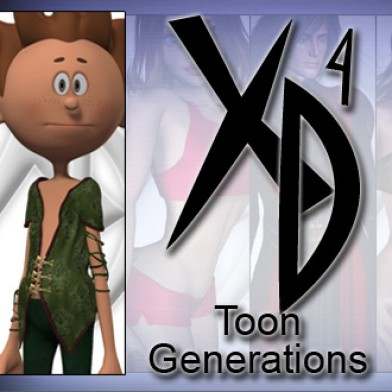 Toon Generations: CrossDresser License Image