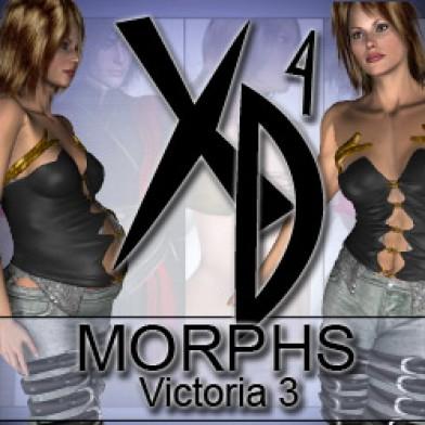 Victoria 3 XD Morphs Image