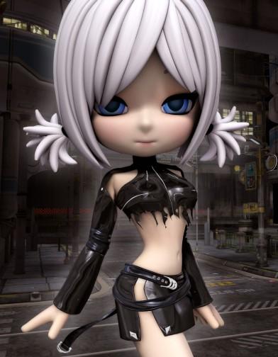 Night Slayers: Black Diamond Skirt for Cookie Image
