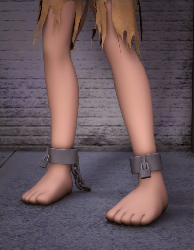 Ankle Shackles for Chip Image