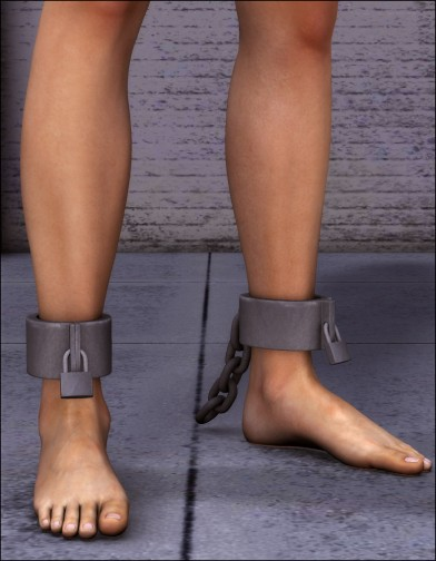 Ankle Shackles for Dawn Image