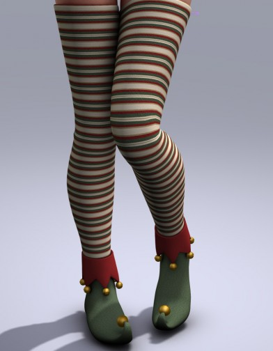 Jingle Elf Shoes for V4 Image