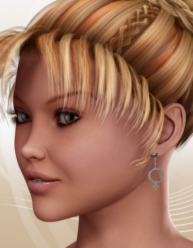 FEM Earrings for V4 Image