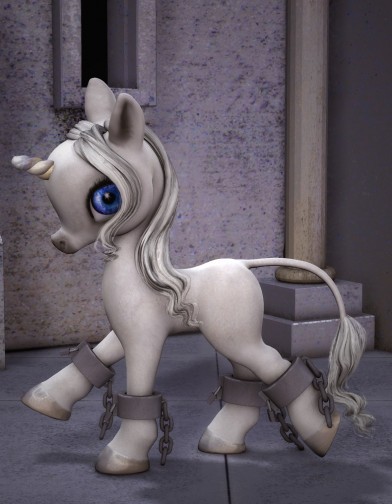 Hoof Shackles for the Unicorn Baby Image