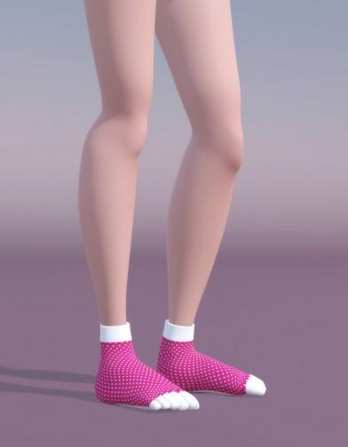 Toe Sock for SuzyQ 2 Image