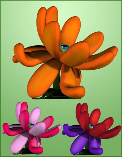 Baby Eye Flower Petals