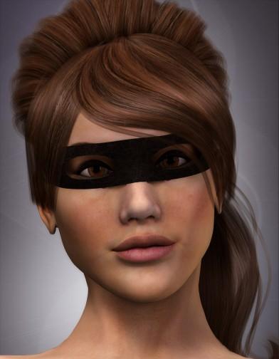 Bandit Mask for Dawn Image