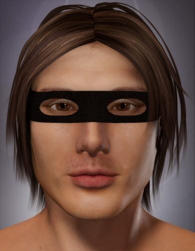 Bandit Mask for Dusk Image
