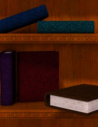 Leather Textures for Tome Image