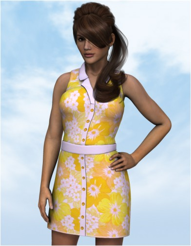 Button Down Dress for Dawn Image