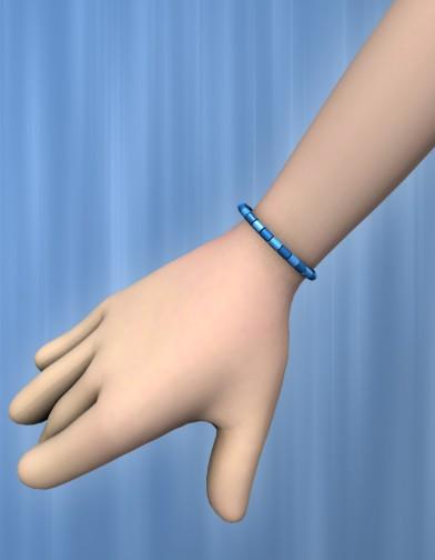 Beaded Bracelet/Anklet for Cookie Image