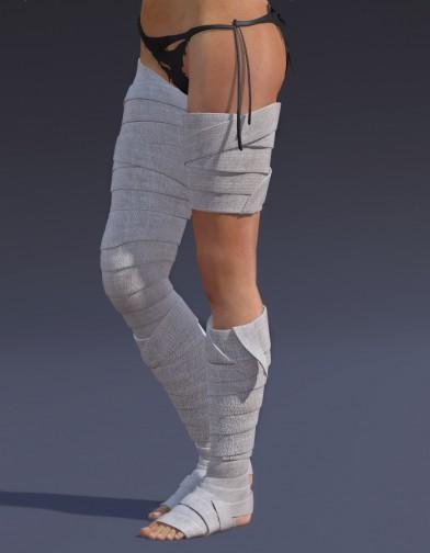 Shin Bandages for Dawn Image