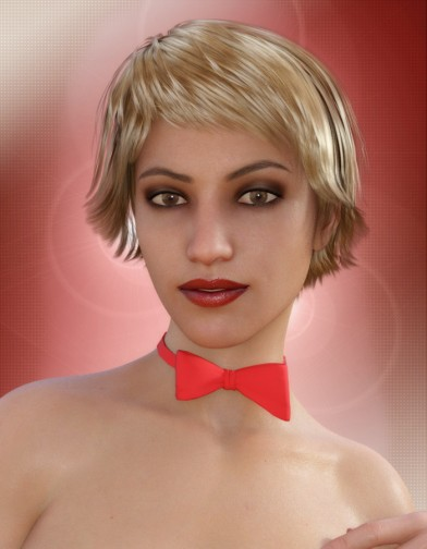 Bow Tie for Genesis 8 Female image