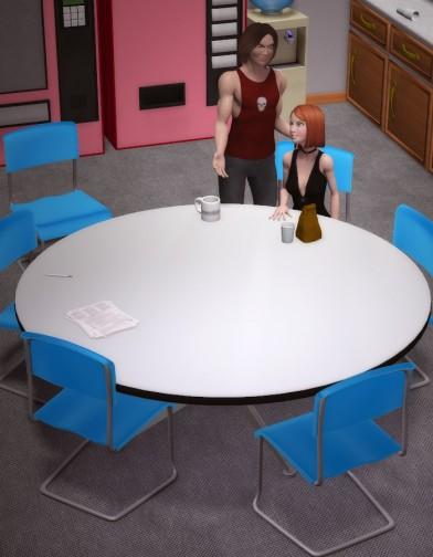 Genericorp Break Room Furniture Image