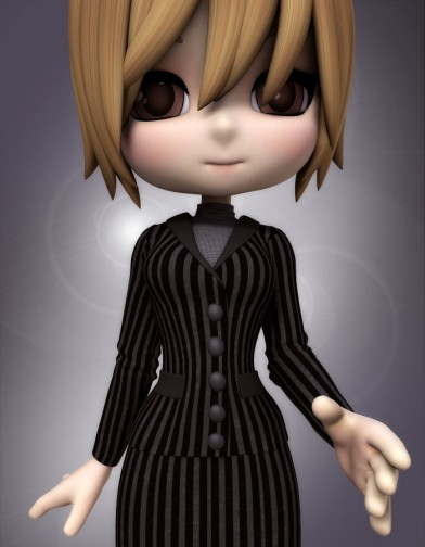 Business Suit Coat  for Cookie image