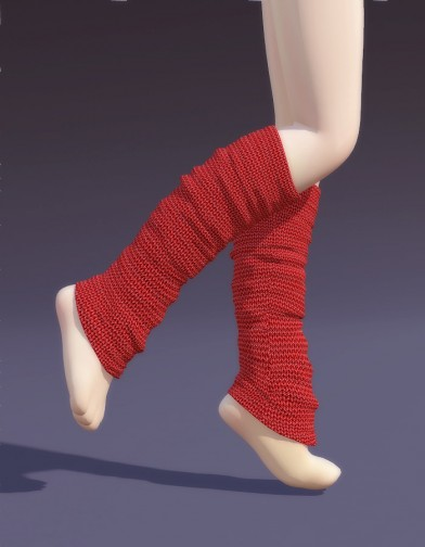 Leg Warmers for Cookie image