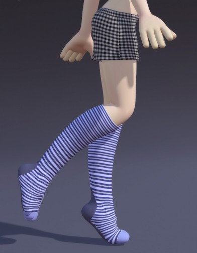 Knee High Toe Sock for Cookie Image