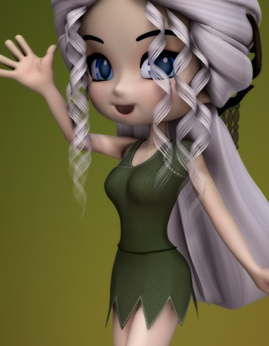Elf Dress for Cookie Image