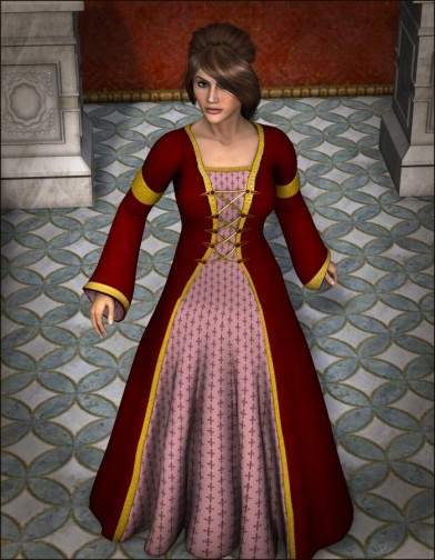 Ladies of the Court: Cassandra Dress for Dawn Image