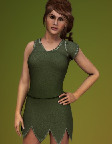 Elf Dress for Dawn Image