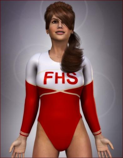 School Spirit: Gymnast for Dawn Image
