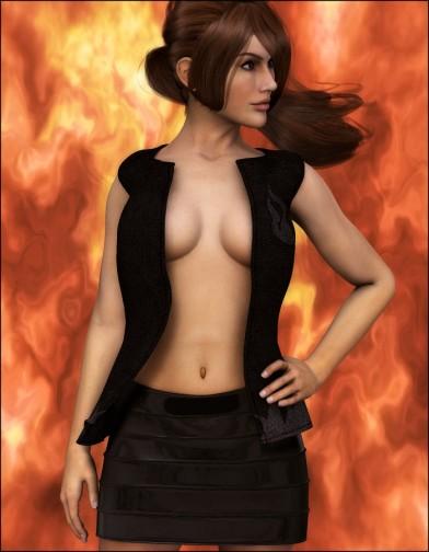 Fire Dragon Vest for Dawn Image