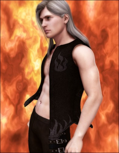 Fire Dragon Vest for M4 Image